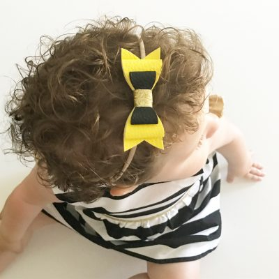 Molly Bow Yellow & Black
