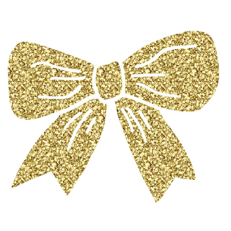 Little Bow Co Gold Logo Bow