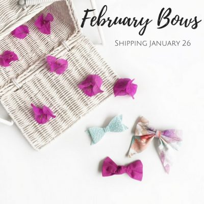 Monthly Bow Subscription