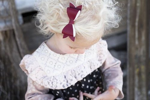 Little Bow Co Pomegranate Bow