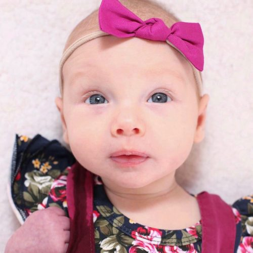 Little Bow Co Magenta Bow Headband