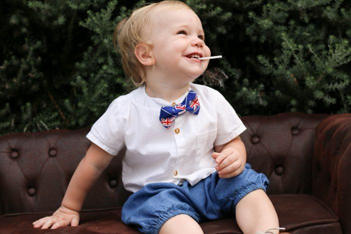 Little Bow Co Aussie Bow Tie