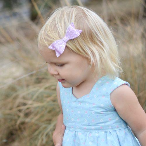 Little Bow Co Molly Bow Lilac Sparkle