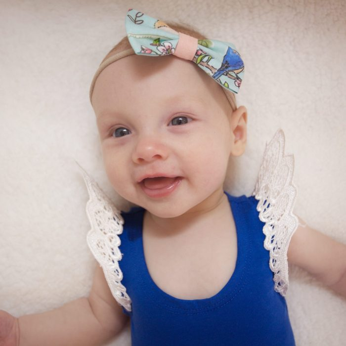 Little Bow Co Bluebird Bow Headband
