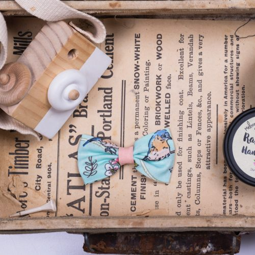 Little Bow Co Bluebird Bow Clip