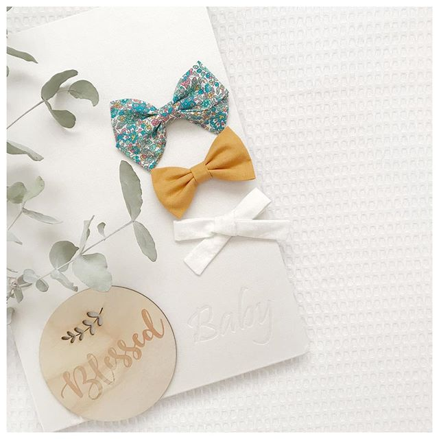 Little Bow Co Fabric Bows