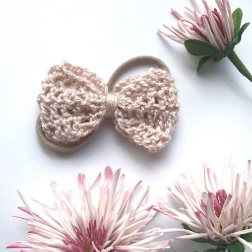 Little Bow Co Lou Lou Bow Nude Headband Petal