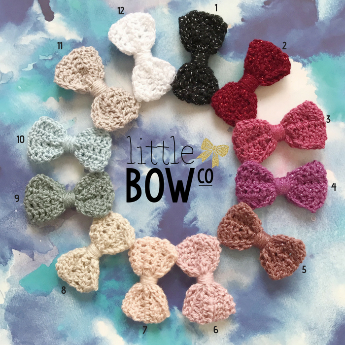 Little Bow Co Lou Lou Crochet Bow