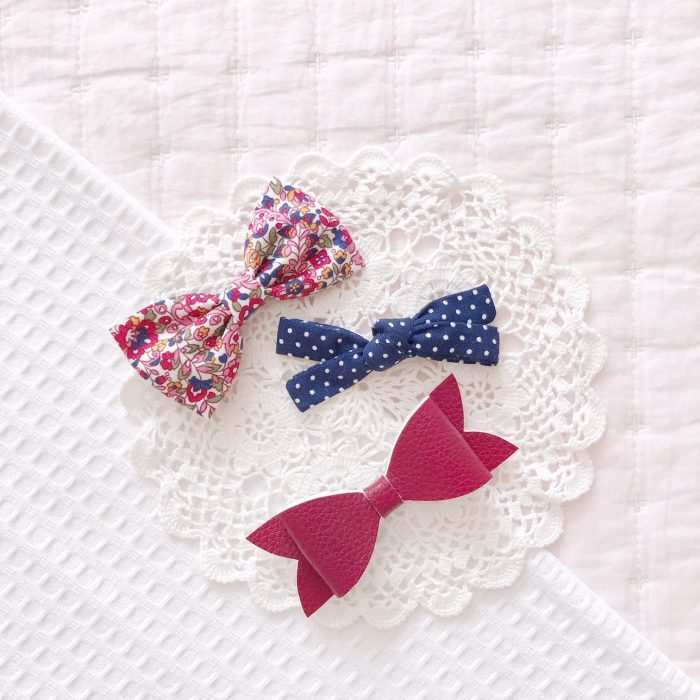 Little Bow Co trio of bows