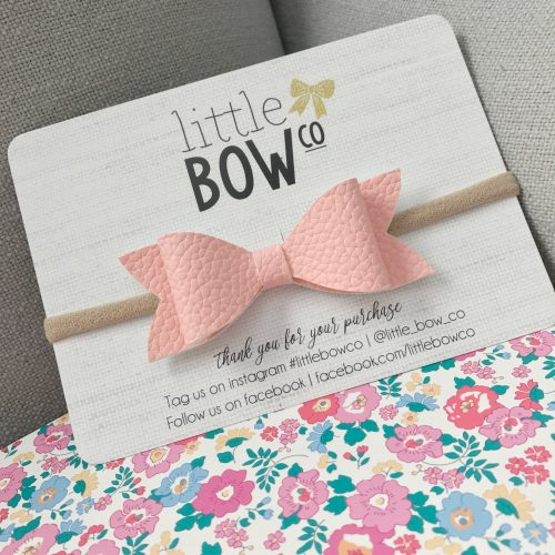 Little Bow Co Baby Pink Molly Bow Headband