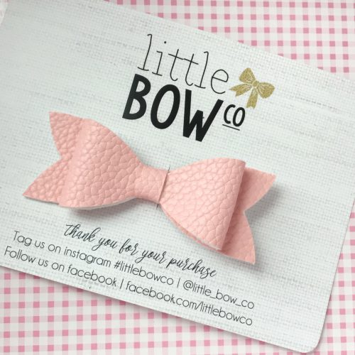 Little Bow Co Baby Pink Molly Bow Clip