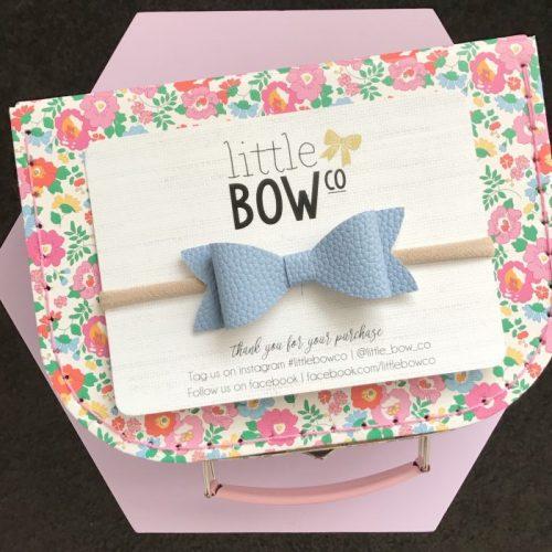Little Bow Co Molly Bow Headband HydrangeaLittle Bow Co Molly Bow Headband Hydrangea