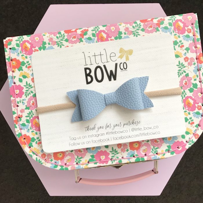 Little Bow Co Molly Bow Headband HydrangeaLittle Bow Co Molly Bow Headband Hydrangea