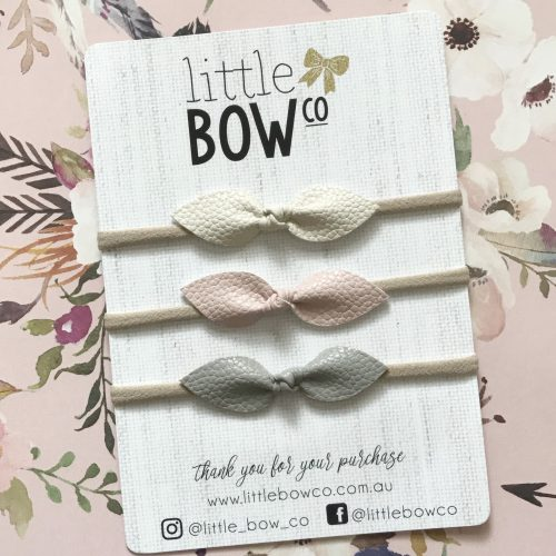 Little Bow Co Charlotte Bows Soft Nylon Headband