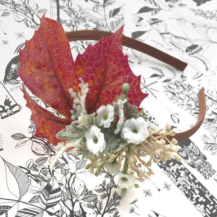Little Bow Co Autumn Cluster Hard Headband