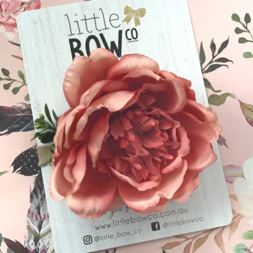 Little Bow Co Large Blush Peony Soft Headband