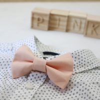 Little Bow Co Boys Bow Tie Peach