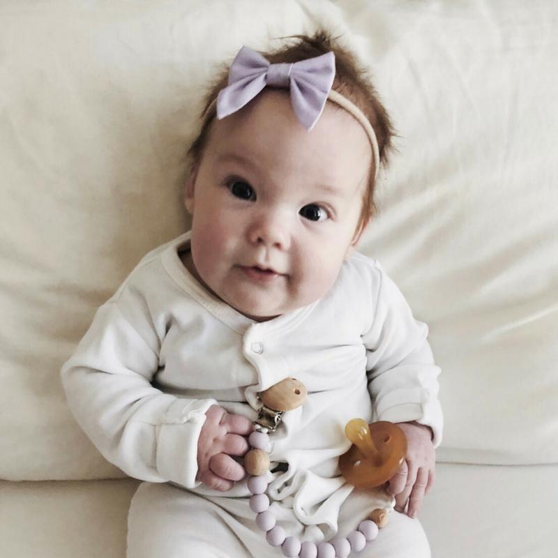 Little Bow Co Lilac Mini Sailor Bow